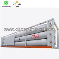 Quality 10-tube 40FT Contianer Jumbo Tube Skid Mobile Semi-trailer for sale
