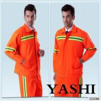 Quality Uniform Hot Sell New Design Orange Safety Worksuit for sale