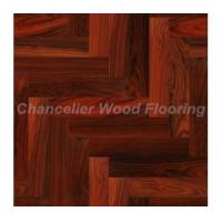 Quality Rosewood Herringbone Engineered Flooring for sale