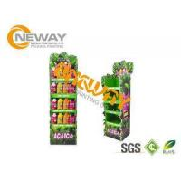 Energy Drinks Free Standing Cardboard Displays / Foldable Display Stand