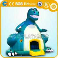 Quality inflatable dinosaur bounce houses,Giant inflatable dinosaur bouncy castles,Jumping castles for sale