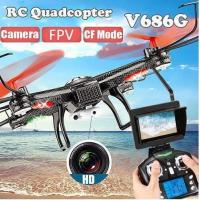 Wholesale WL V686G 2.4G 4CH Headless Mode RC QuadCopter With 5.8G FPV from china suppliers