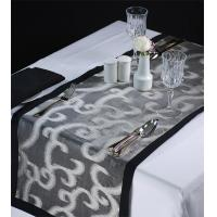 Quality Designer Organza Floral Runners & Placemats for sale