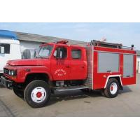 Quality Dongfeng 140 tine powder fire truck Fire truck HuBei ChengLi Special Automobile Co.,Ltd for sale