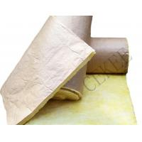 Quality glass wool with kraft paper for sale
