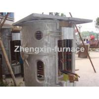 Quality 1t Induction Melting Furnace for Aluminum Scrap for sale