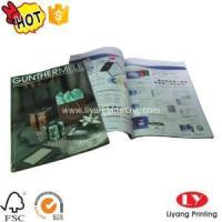Quality Magazine Softcover magazine,brochure printing with glossy lamination for sale