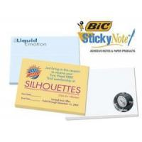 """Quality Imprinted/Personalized Items Bic 4""""x3"""" Adhesive Notepad for sale"""