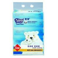 Pulppy 3-Ply Soft Pack Facial Tissue