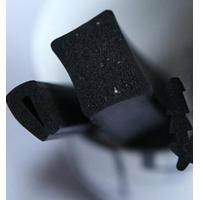 Quality Extruded Rubber and Plastic Products Sponge Rubber Extrusions for sale