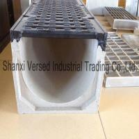 Polymer concrete channel drain