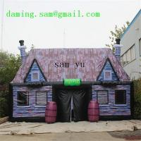 Quality Can Be Customized Size Inflatable Pub Inflatable Irish Pub for sale
