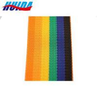 Rainbow Colors 50mm PP Webbing For Luggage Belt Or Bags