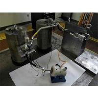 Test system of dynamic stiffness of air conditioning pipeline...
