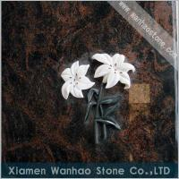 Quality Tombstone Cover Slab with Inlay 001 for sale