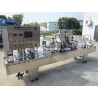Five Mould Coffee Cup Filling Sealing Machine