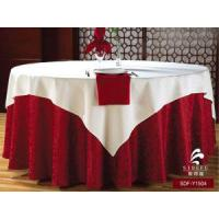 High Quality Luxury Hotel Wedding Table Linen, Wedding Hotel Textile Banquet Linen Tablecloth