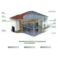 Quality Light steel villa - technical system for sale