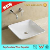 art counter basin Best selling hot product square shape wash basin