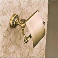Bath Antique Bronze Finish Solid Brass Toilet Paper Holders