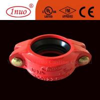 Fire Fighting Systems Grooved Systems FM/UL/CE Approved Ductile Iron Grooved Flexible Coupling