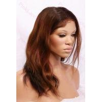 Quality Alexa T-#2/#30 Natural Straight Full Lace wig in 14 inches for sale