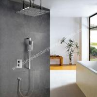 concealed brass shower combination