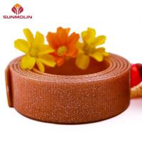 Webbing Shining brown TPU / PVC coated waterproof webbing