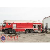 Quality Speed Ratio 1.5 Water Tower Fire Truck With ABS Function Braking System for sale