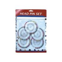Pins Series Head Pin Set