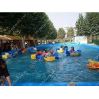 Inflatable Water Game Water Shark Hand Boat