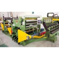Slitting line machine The type 1400 double foil around the machine