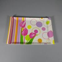 Quality Flower Design Printing Stylish Small Melamine Snack Tray for sale