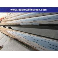 Quality High quality Slotted steel pipe /oil gas well casing(factory for sale