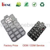 Quality 100% Silicon Rubber Keypad Custom Rubber Keypad Mobile Phone Parts Manufacturer for sale