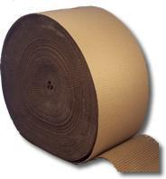 Single Faced Corrugated Paper Rolls 750mm (29.5 Inches) Wide