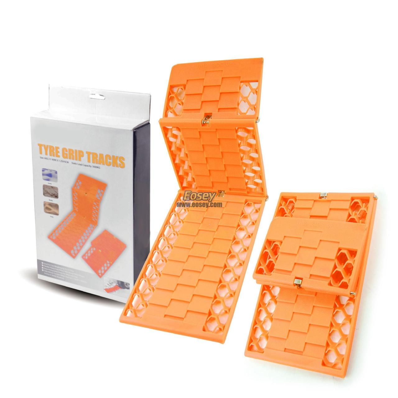 Wholesale Type grip tracks, foldable recovery tracks, anti-skid tracks from china suppliers