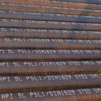 Wholesale DIN1629 ST52 Seamless Steel Pipe Used In The Construction Of Chemical Plant And Pipework from china suppliers