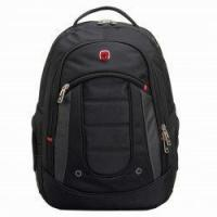 Wholesale Men's Student Computer Backpack Bag Black from china suppliers