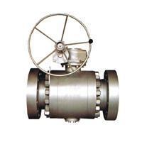 Quality Ball valve Flange connection fixed ball valve for sale