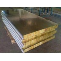 Quality Rock wool insulation steel sandwich panel for building for sale