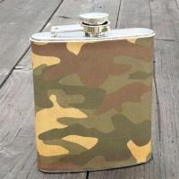 343 Leather hip flask