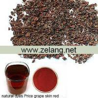 Quality Natural Dyes Price Grape Skin Red Sale for sale