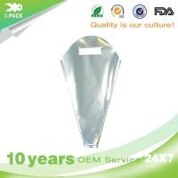 Plastic Clear Cone Shaped Plastic Treat Bags