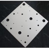 Quality Modern Perforated Anti-rust Aluminum Galvanized Steel Ceiling Suspension System 595x595mm for sale