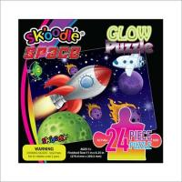 Quality 24 Piece Space Glow Puzzles for sale