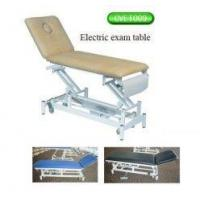 "Wholesale 4"" castors portable medical electric exam table, hydraulic treatment table from china suppliers"