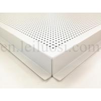 Quality 595*595mm Perforated Aluminum Ceiling Tile for sale