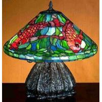 "Wholesale Tiffany Table Lamps Tiffany Koi Table lamp - 16""H from china suppliers"