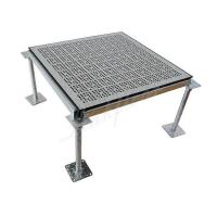 Quality 25 Percent HPL PVC Type Steel Perforated Raised Floor for sale